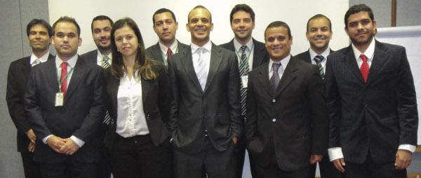 fotos com todos os consultores da DGE