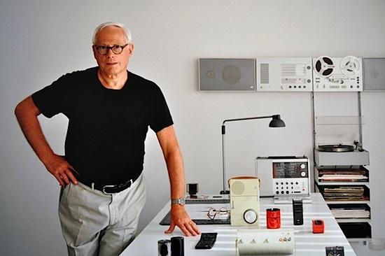 Dieter Rams e alguns de seus desenhos