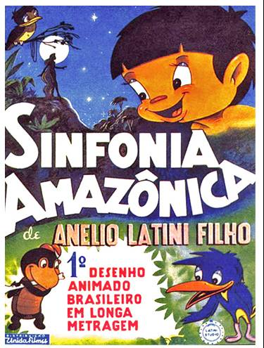 Cartaz da Sinfonia amazonica