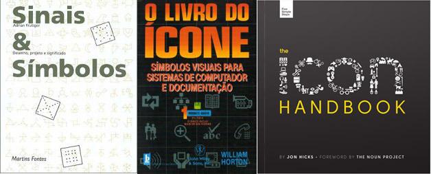 As capas dos tres livros