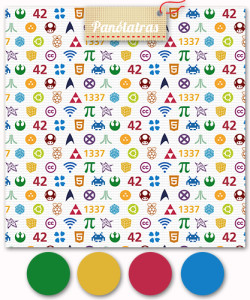 icones nerd cores