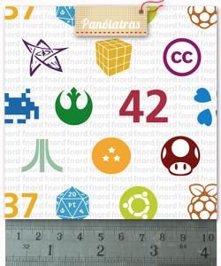 icones nerds detalhe
