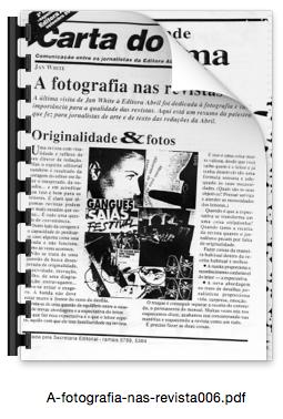 A fotografia nas revistas