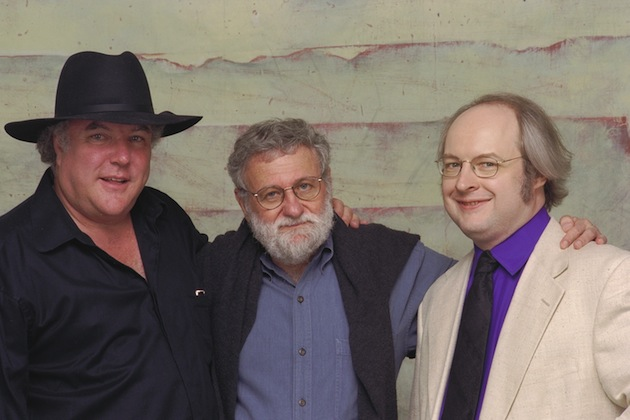 Foto onde aparecem Bruce, Norman e Nielsen